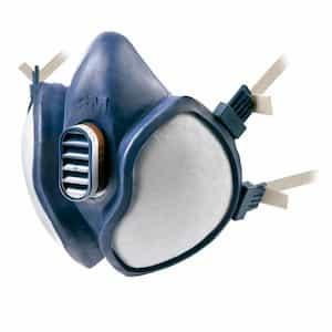 Máscara FFA1P2 R D para pintar con pistola de 3M